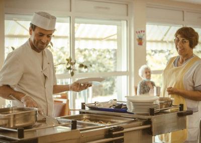 EHPAD Ardèche cuisine